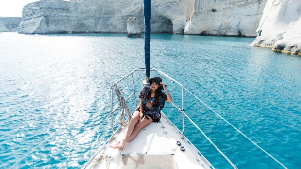 Greek islands, including Milos, are on the itineraries of Celestyal Cruises.