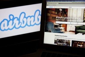 Airbnb takes a cut from all its listed accommodation.