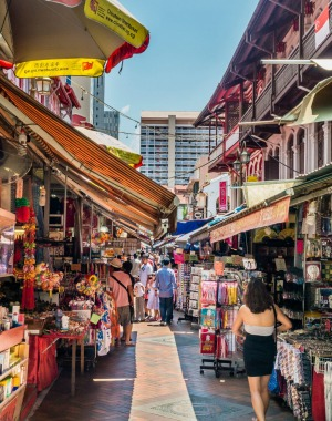Chinatown offers culture, food and shopping.