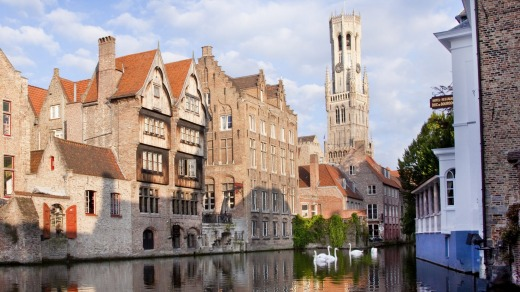 Bruges is a magnificent chocolate box of a place.