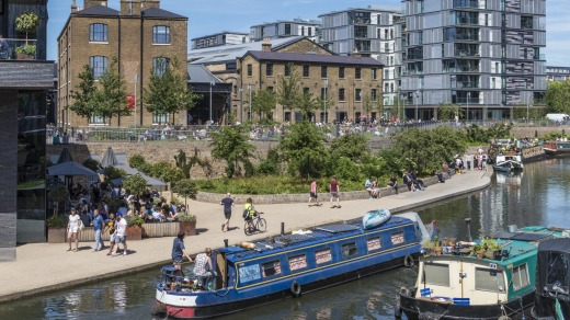 "Coal Drops Yard touts itself as ""a place where art, commerce and culture come together""."