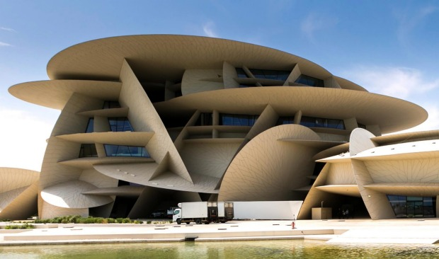 Atelier Jean Nouvel's extraordinary design for the National Museum of Qatar finally opened to the public at the end of ...