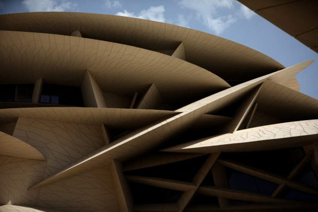 The building comprises 539 conical discs supported by a steel frame that spans an insulated waterproof structure, all ...