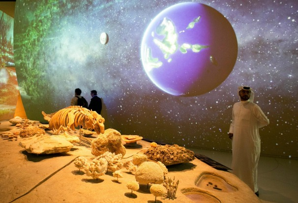 Inside, the 5.2-hectare museum National Museum of Qatar is designed to tell the story of the country's history, from the ...