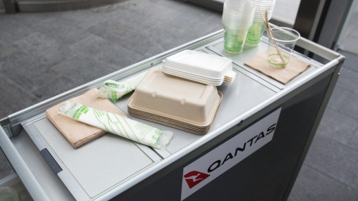 Qantas will soon phase out paper boarding passes and plastic frequent flyer cards and plans to become the first airline ...