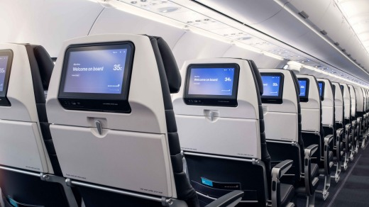 The A321neo offers Air New Zealand's new in-flight entertainment system, and the selection is probably the best the ...