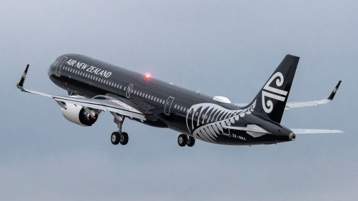 Air New Zealand's first A321neo went into service last November, and the airline now has five in its fleet.