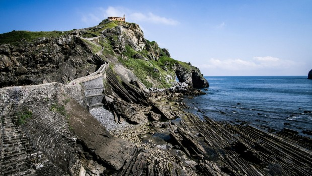 The San Juan de Gaztelugatxe Staircase (Dragonstone from Game of Thrones).