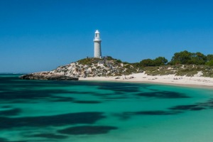 Pinky Beach on beautiful Rottnest Island.