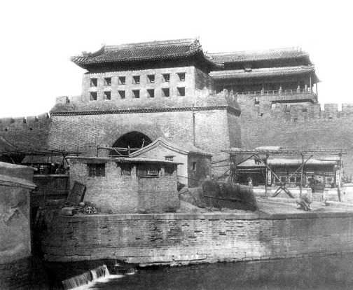 Yongdinmen, Beijing: The former Beijing city gate didn't succumb to natural disaster – it was torn down in an ...