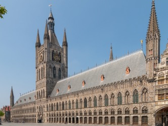 The Cloth Hall, Belgium: It was the First World War, rather than the Second, that did for the magnificent Cloth Hall in ...