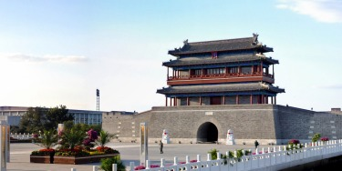 Later on, the Chinese authorities thought better of destroying the 1553 Ming Dynasty landmark, so remade it on the same ...