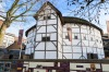 Shakespeare's Globe, London: The famous theatre in which Shakespeare performed was burned down, rebuilt, and then ...