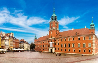 The Royal Castle, Warsaw: After the 1944 Warsaw Uprising, the bulk of the Polish capital's Old Town was razed to the ...