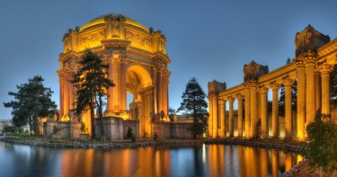 The Palace of Fine Arts, San Francisco: Originally designed as temporary building for the 1915 Panama-Pacific ...