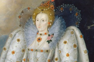 A portrait of Queen Elizabeth I by Marcus Gheeraerts the Younger, c.1592. © National Portrait Gallery, London