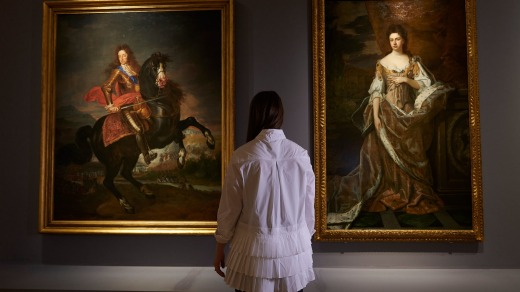 Each room at the Tudors to Windsors exhibition is devoted to a house or generation of the British royal family.