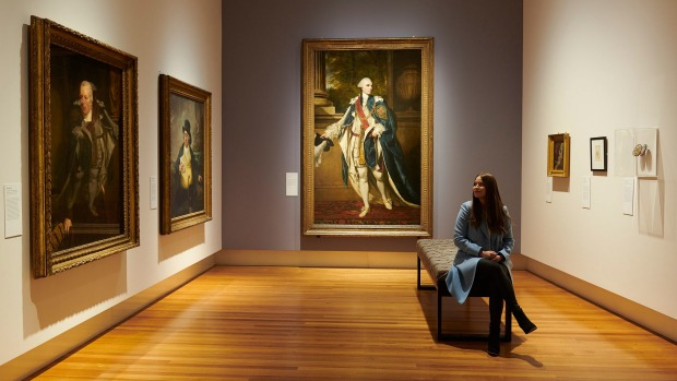 The Tudors to Windsors exhibition which runs until July 14 at the Bendigo Art Gallery.
