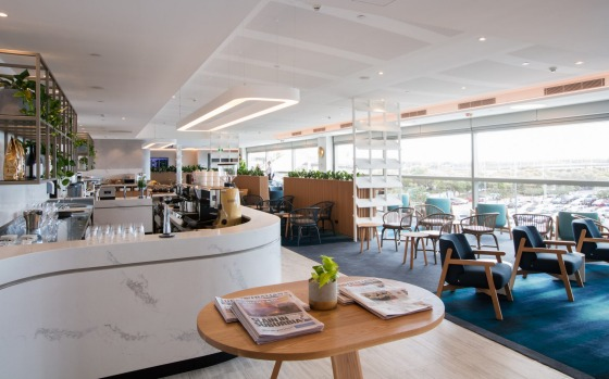 Qantas has opened its new international lounge at Brisbane Airport, adding a storey at expanding capacity by 25 per cent ...