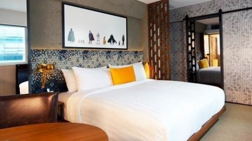 The rooms are spacious by Hong Kong standards.