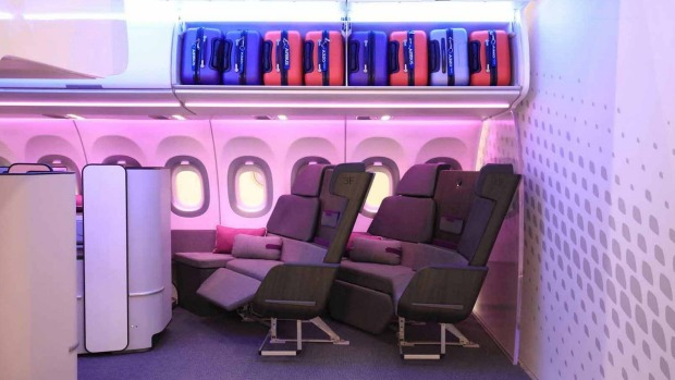 These lounges could appear on planes being developed for short and mid-haul travel.