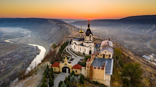 The Old Orhei monastery - part of an archaeological complex that's said to be the spiritual heart of Moldova.