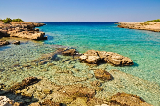 PORTO SELVAGGIO  Deep on the Salento Peninsula, the heel of the Italian boot, this shelving limestone cove dominated by ...