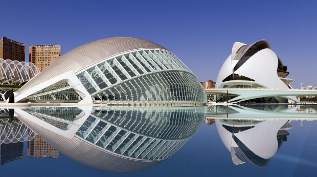 Spain's Santiago Calatrava is renowned for his gleaming white neo-futurist structures, including the domed City of Arts ...