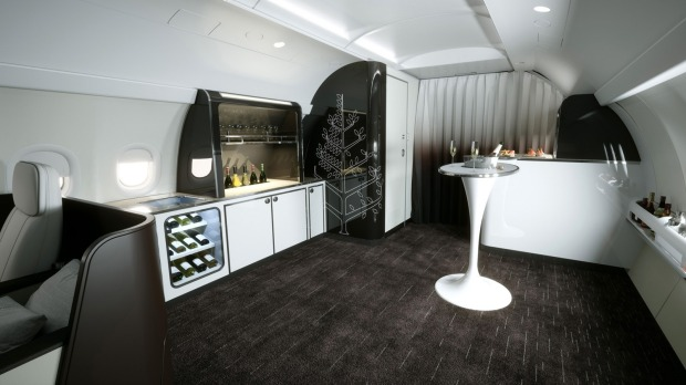 One of the key features in the new model is a lounge area, including a full bar staffed with a mixologist. The idea is ...
