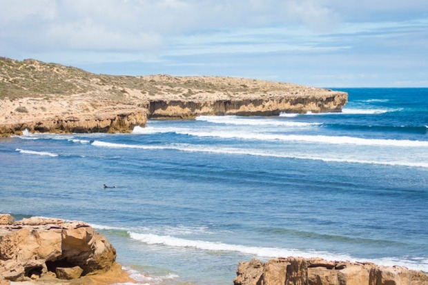 Go surfing: 21km south of Penong, Cactus Beach is revered as being one of the world's great surf spots.