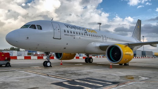 Expect tight seats on budget carriers like Vueling.