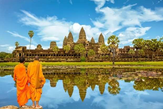 Cambodia, 3,838km from Darwin: Tourism has boomed in Cambodia over the last decade, but evidently not enough for an ...