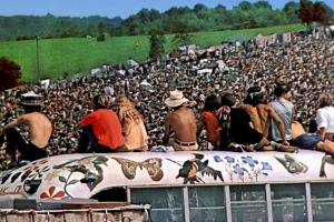 """Time magazine said Woodstock was """"the greatest peaceful event in history""""."""
