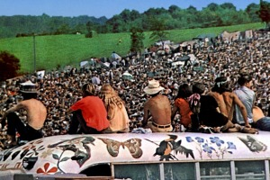 "Time magazine said Woodstock was ""the greatest peaceful event in history""."