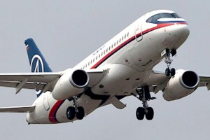 Which country manufactures the Sukhoi Superjet 100?