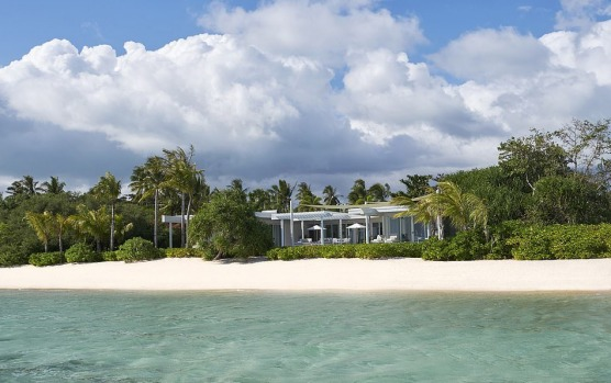 Banwa Private Island resort, in the Philippines' Palawan archipelago, two hours from Manila, costs $140,000 a night and ...