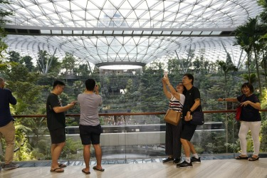 Jewel by no means represents the completion of Changi. The next  airport project is the ambitious Terminal 5, which has ...