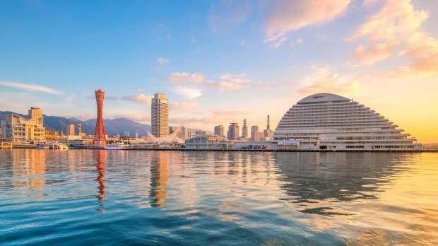 Kobe, the sixth-largest city in Japan, has a disconcertingly foreign look.