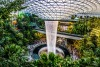 The Jewel Changi Airport is a mixed-use development in Singapore, 'effectively a shopping mall with flight connections'.