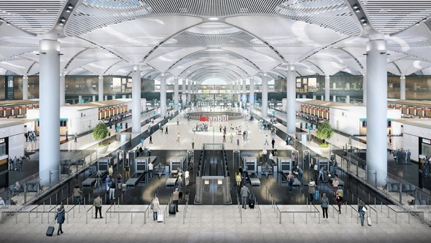 Istanbul Airport focuses on the passenger experience.