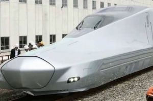 The Alfa-X's first car will mostly be a sleek nose, measuring 22 metres.