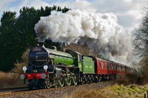 Steam Dreams is running steam train services from London Waterloo to Windsor.