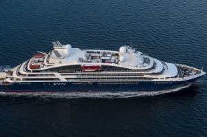 Ponant's newly launched ship Le Bougainville (1) SatMay25ShippingNews