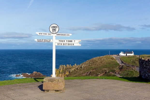 Land's End, Cornwall: The supposed tip of Britain isn't even the most southerly point on the mainland (that's nearby ...