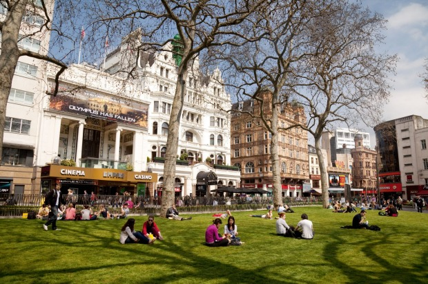 Leicester Square, London: It may be where all the big movie premieres are held and in the heart of London's Theatreland, ...