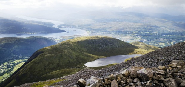 Ben Nevis: As mountains go, Ben Nevis is a bit of a stumpy one that doesn't stand out all that dramatically from its ...