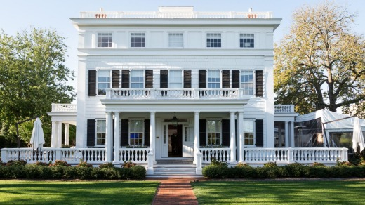 Topping Rose House at Bridgehampton offers a boutique luxury stay.