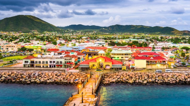 Basseterre, St. Kitts and Nevis.