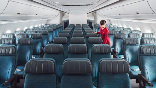 Cathay's great service begins even before you board the plane.