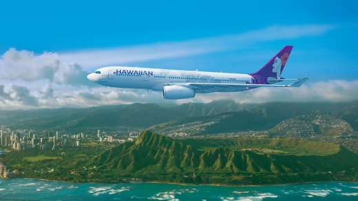 Hawaiian Airlines has maintained its high standard of service.